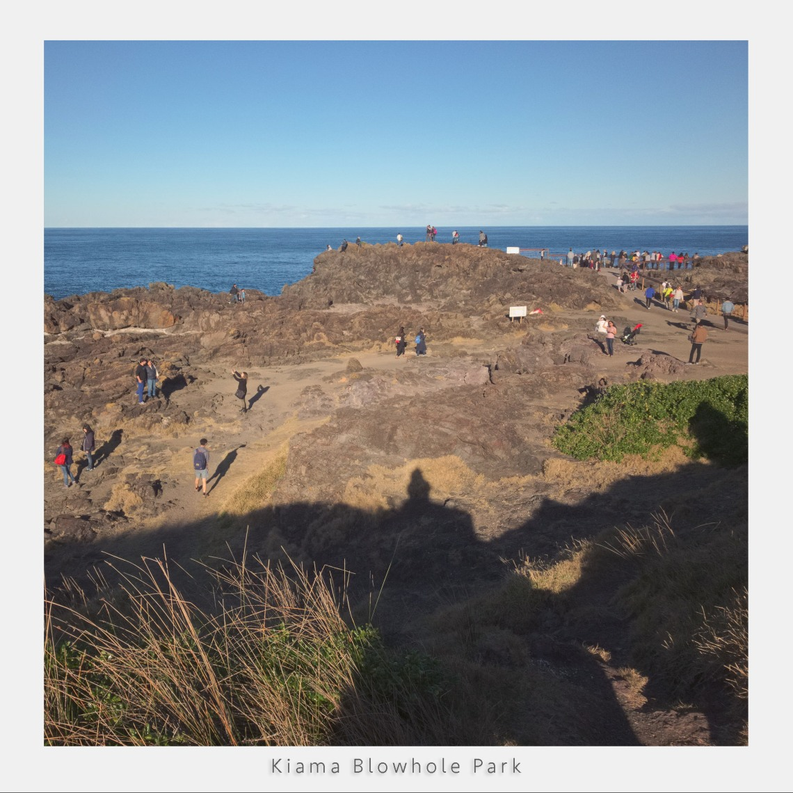 Kiama Blowhole park taken with iPad Pro using DNG, Test image.