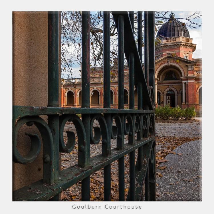 Goulburn Courthouse Entrance