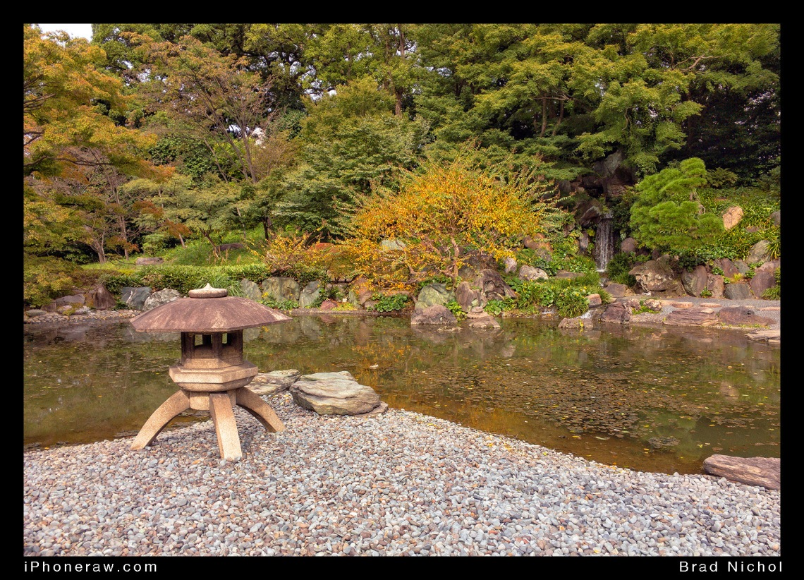 East Garden of the Imperial Palace, Tokyo, Japan, pond, autumn.
